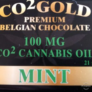 CO2 GOLD – Premium Belgium Chocolate